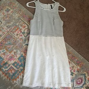 Kenzie Black + White Dress